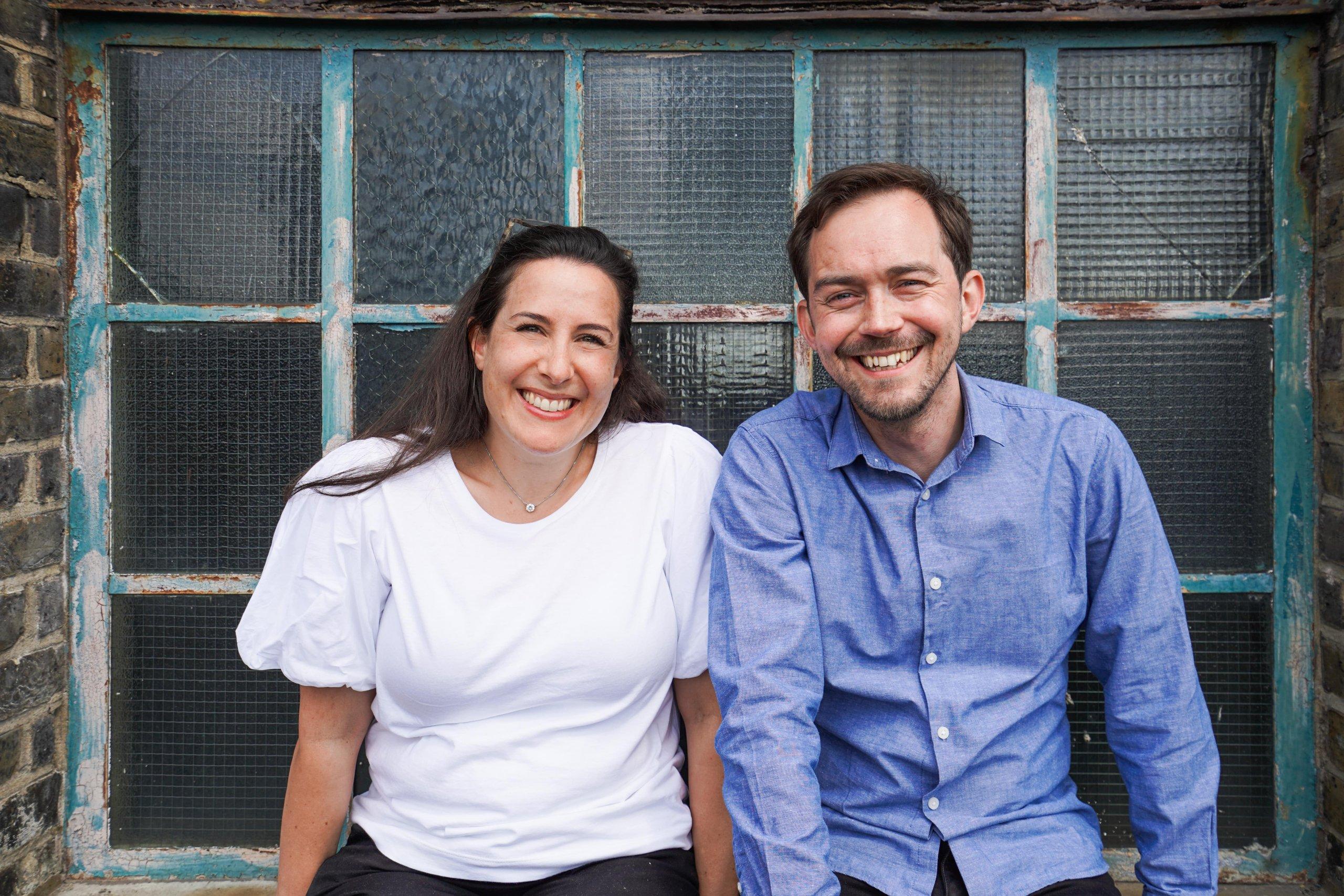 Better Bolder Braver Co-Founders Frances and Simon