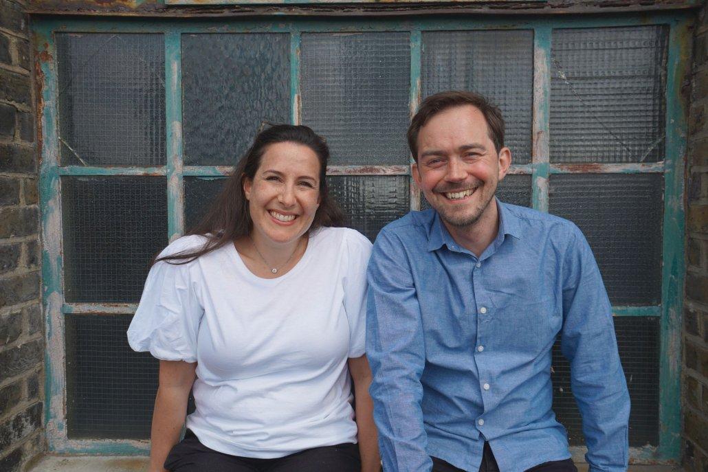 Better Bolder Braver founders Frances and Simon