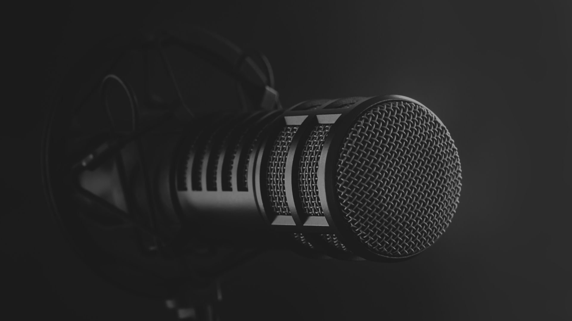 Microphone for recording podcast